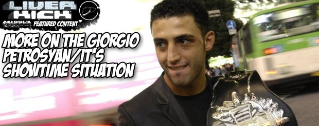More on the Giorgio Petrosyan/It's Showtime situation