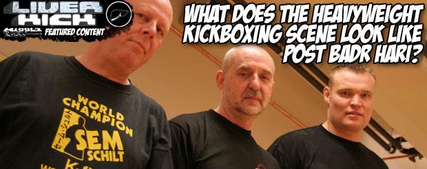 What does the heavyweight kickboxing scene look like post Badr Hari?