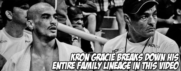 Kron Gracie breaks down his entire family lineage in this video