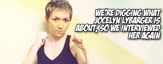 We're digging what Jocelyn Lybarger is about, so we interviewed her again