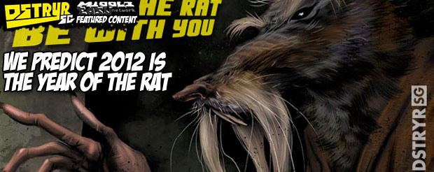 We predict 2012 is the year of the rat