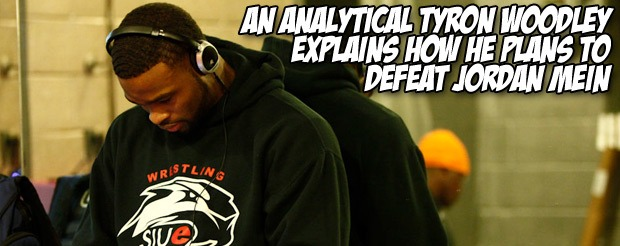 An analytical Tyron Woodley explains how he plans to defeat Jordan Mein