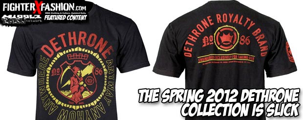 The spring 2012 Dethrone collection is slick