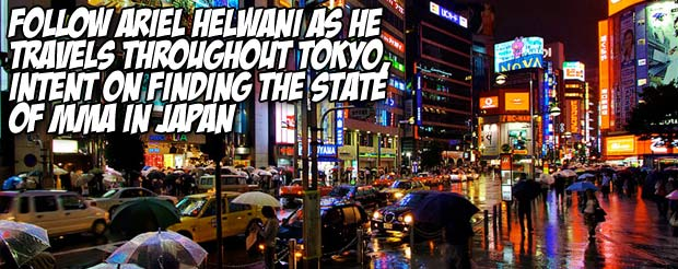 Follow Ariel Helwani as he travels throughout Tokyo, intent on finding the state of MMA in Japan