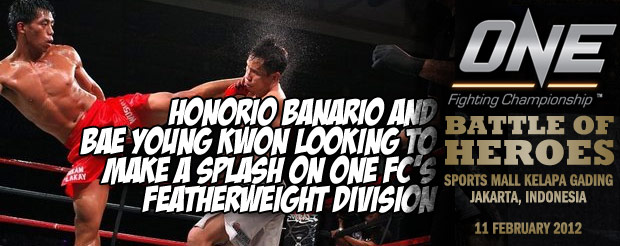 Honorio Banario and Bae Young Kwon Looking to Make a Splash on One FC's Featherweight Division