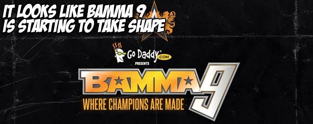 It looks like Bamma 9 is starting to take shape