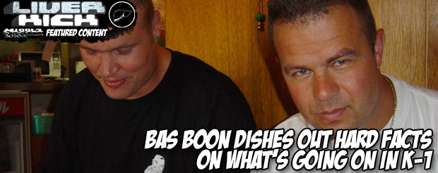 Bas Boon dishes out hard facts on what's going on in K-1