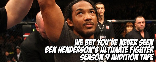 We bet you've never seen Ben Henderson's Ultimate Fighter Season 9 audition tape