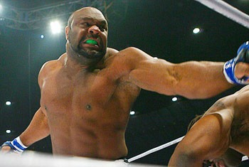 Bob Sapp has a gnarly scar and is promoting KSW 19 in this ridiculous video