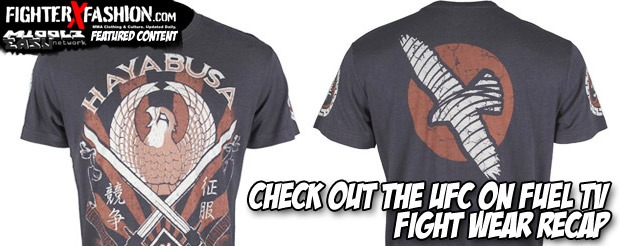 Check out the UFC on Fuel TV Fight Wear Recap