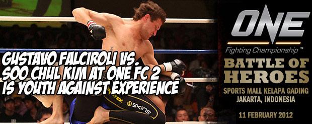 Gustavo Falciroli vs. Soo Chul Kim at One FC 2 is Youth Against Experience