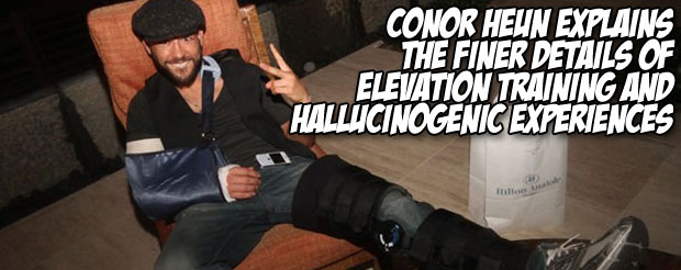 Conor Heun explains the finer details of elevation training and hallucinogenic experiences