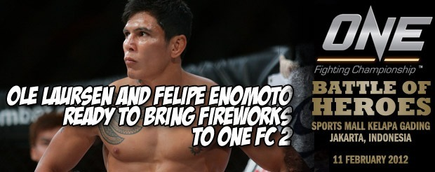 Ole Laursen and Felipe Enomoto Ready to Bring Fireworks to One FC 2