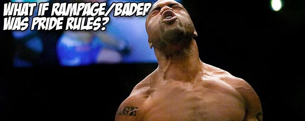 What if Rampage/Bader was Pride rules?