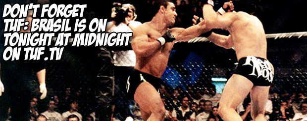Don't forget TUF: Brasil is on tonight at midnight TUF.tv