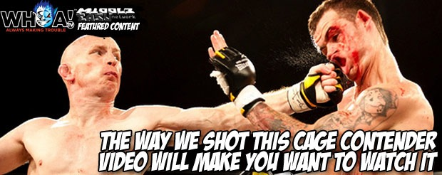 The way we shot this Cage Contender video will make you want to watch it