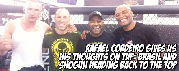 Rafael Cordeiro gives us his thoughts on TUF: Brasil and Shogun heading back to the top