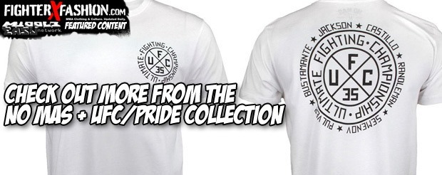 Check out more from the No Mas + UFC/PRIDE collection