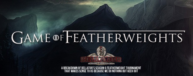 This is what happens when Bellator's featherweight tourney and Game of Thrones merge