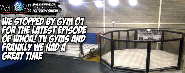 We stopped by Gym 01 for the latest episode of WHOA! TV gyms and frankly we had a great time