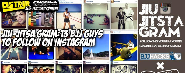 Jiu-Jitsa Gram: 13 BJJ guys to follow on Instagram