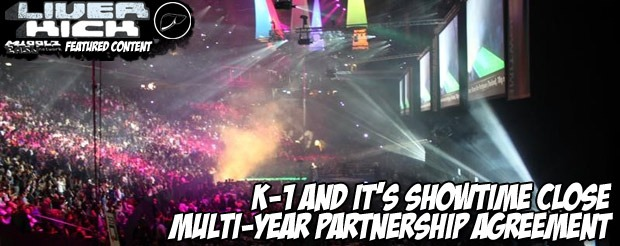 K-1 and It's Showtime close multi-year partnership agreement