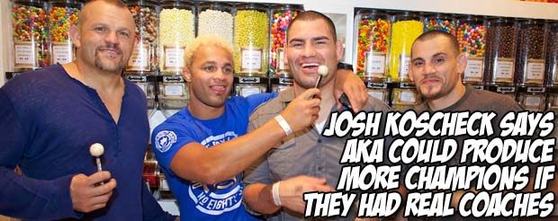 Shall we watch Josh Koscheck discuss his upcoming Robbie Lawler fight? We shall