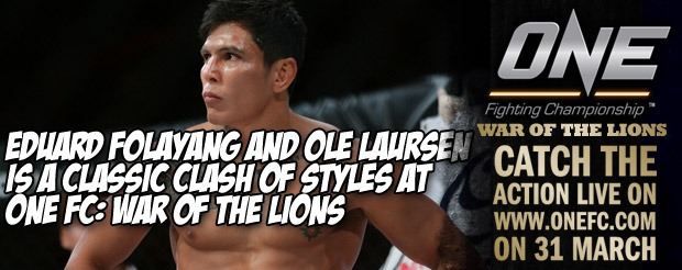 Eduard Folayang and Ole Laursen is a Classic Clash of Styles at One FC: War of the Lions