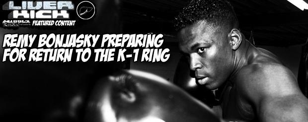 Remy Bonjasky preparing for return to the K-1 ring