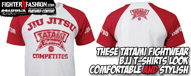 These Tatami Fightwear BJJ T-shirts look comfortable AND stylish