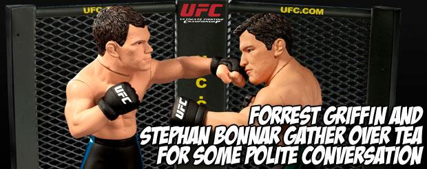 Forrest Griffin and Stephan Bonnar gather over tea for some polite conversation
