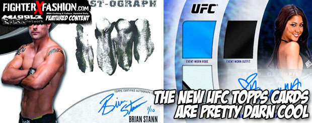 The new UFC Topps cards are pretty darn cool
