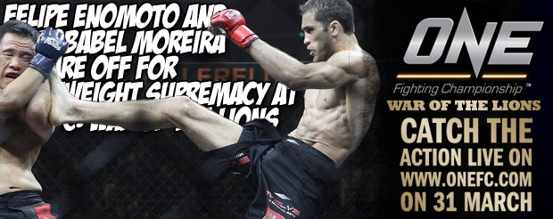 Felipe Enomoto and Zorobabel Moreira Square Off for Lightweight Supremacy at One FC: War of the Lions