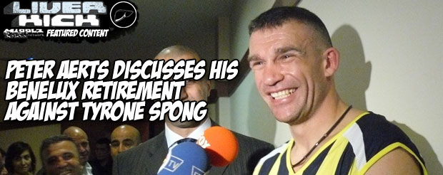 Peter Aerts discusses his Benelux retirement against Tyrone Spong