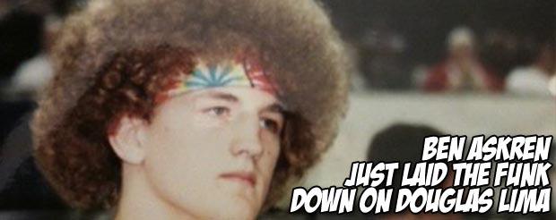 Ben Askren just laid the funk down on Douglas Lima