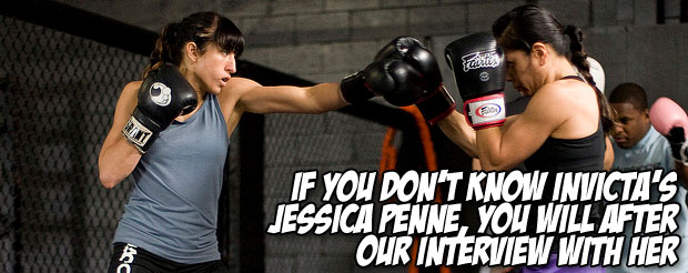 If you don't know Invicta's Jessica Penne, you will after our interview with her