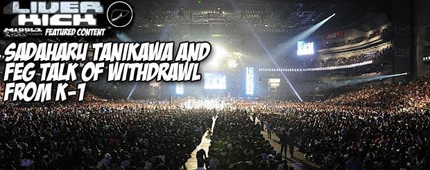 Sadaharu Tanikawa and FEG talk of withdrawl from K-1