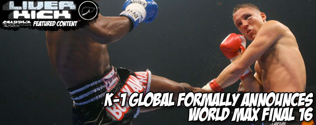 K-1 Global formally announces World Max Final 16