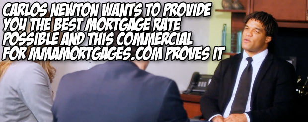 Carlos Newton wants to provide you the best mortgage rate possible and this commercial for MMAMortgages.com proves it