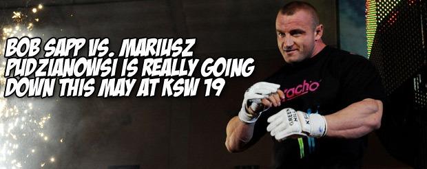 Bob Sapp vs. Mariusz Pudzianowsi is really going down this May at KSW 19