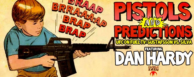 Check out our NEW feature: Pistols and Predictions featuring Dan Hardy