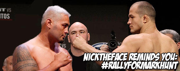 NickTheFace reminds you: #RallyForMarkHunt