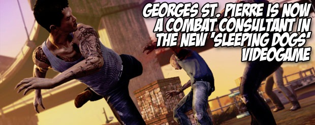 Georges St. Pierre is now a combat consultant in the new 'Sleeping Dogs' videogame