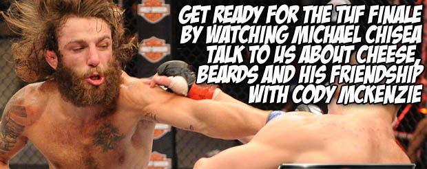 Michael Chisea talks to us about cheese, beards and Cody McKenzie