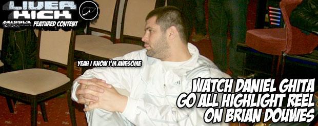 Watch Daniel Ghita go all highlight reel on Brian Douwes