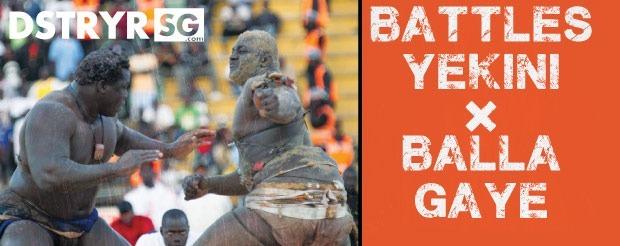Yekini x Balla Gaye. We're talkin' Senegalese Folk Wrestling (Laamb), grappler!