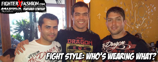Fight Style: Who's wearing what?