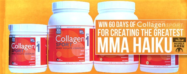 Win 60 MORE days of Collagen Sport for creating the greatest MMA haiku ever