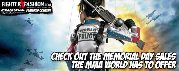 Check out the Memorial Day sales the MMA world has to offer