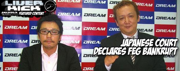 Japanese court declares FEG bankrupt